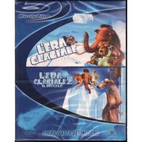 L'Era Glaciale 1 & 2 BRD Blu Ray Disk Saldanha Carlos / Wedge Chris Sigillato