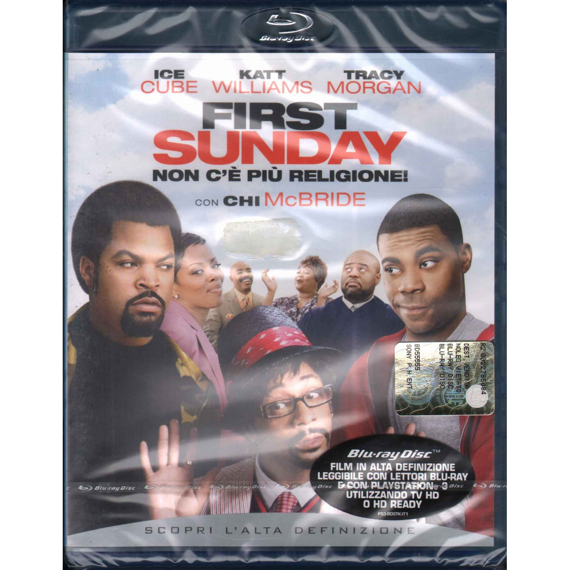 First Sunday Non C'E' Piu' Religione BRD Blu Ray Ice Cube Tracy Morgan Sigillato