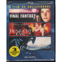 Underworld - Resident Evil - Final Fantasy BRD Blu Ray Sony Pictures Sigillato