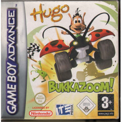 Hugo Bukkazoom / ITE Media Game Boy Advance GBA Nuovo