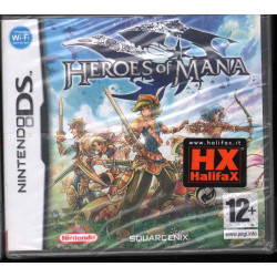 Heroes of Mana Nintendo DS NDS Square Enix Sigillato
