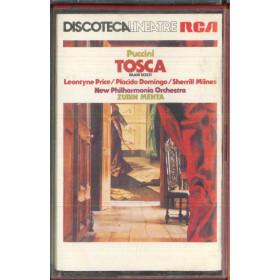 Puccini, Zubin Mehta MC7 Tosca Brani Scelti / RCA VK 80567 Nuova
