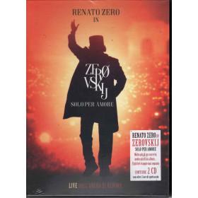 Renato Zero CD Zerovskij Solo Per Amore Live / Tattica 8034097060687 Sigillato