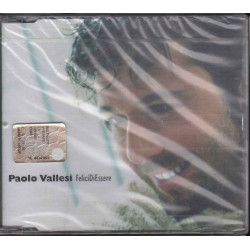 Paolo Vallesi ‎Cd'S Singolo Felici Di Essere CGD East West 0927469922 Sigillato