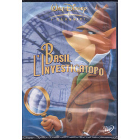 Basil L'Investigatopo DVD Clements Ron Mattinson Burny / Disney Sigillato