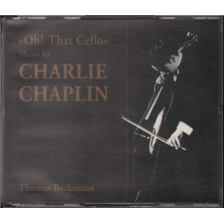 Thomas Beckmann CD Oh That Cello Music By Charlie Chaplin / Jaro Medien ‎Nuovo