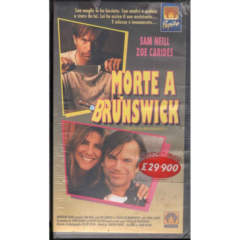 Morte A Brunswick VHS Yvonne Lawley / Nick Lathorius Medusa Sigillato