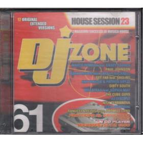 AA.VV. CD DJ Zone 61 House Session 23 / Time Records DJZ 061 Sigillato