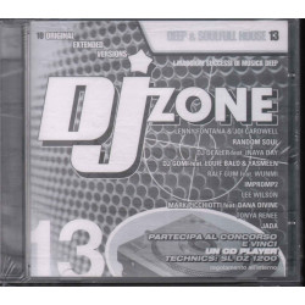 AA.VV. CD DJ Zone Deep & Soulfull House 13 / Time Records DJZ-S 013 Sigillato
