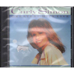 Carly Simon CD Greatest Hits Live Nuovo Sigillato 4007192591961
