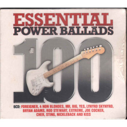 AA.VV. Box 6 CD 100 Essential Power Ballads / Universal 5330512 Sigillato