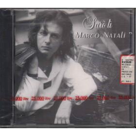 Marco Natali CD Saro' Li' / Anteros RTI Music NR20592 Sigillato