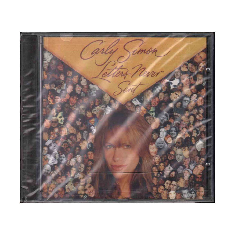 Carly Simon CD Letters Never Sent - UK 07822 18752 2 Sigillato 0078221875226