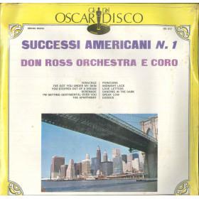 Don Ross Orchestra Lp Vinile Successi Americani N 1 Oscar Del Disco Sigillato