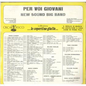 New Sound Big Band Lp Vinile Per Voi Giovani / Gli Oscar Del Disco Sigillato