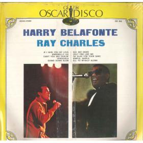 Harry Belafonte / Ray Charles Lp Vinile Omonimo Same / Oscar Del Disco Sigillato