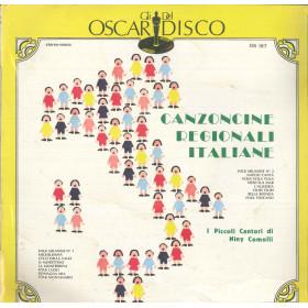 I Piccoli Cantori Di Niny Comolli Lp Canzoncine Regionali Italiane Sigillato