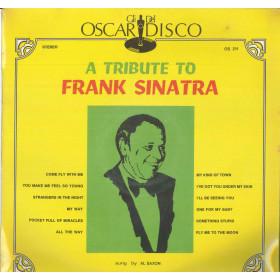 Al Saxon Lp Vinile A Tribute To Frank Sinatra / Oscar Del Disco Cover Sigillato