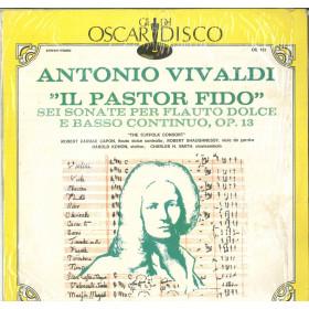 Robert Farrar Capon Antonio Vivaldi Lp Il Pastor Fido The Suffolk Consort Nuovo