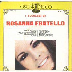 Rosanna Fratello Lp I Successi Di Rosanna Fratello / Oscar Del Disco Cover Nuovo