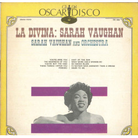 Sarah Vaughan Lp Vinile La Divina Sarah Vaughan Gli Oscar Del Disco Cover Nuovo