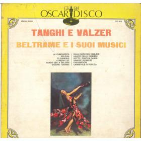 Beltrame E I Suoi Musici Lp Vinile Tanghi E Walzer Gli Oscar Del Disco Nuoco