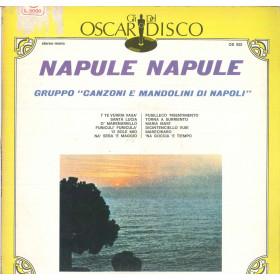 Gruppo Canzoni E Mandolini Di Napoli Lp Napule Napule / Oscar Del Disco Nuovo