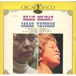 Billie Holiday / Sarah Vaughan Lp Omonimo Same / Oscar Del Disco Cover Nuovo