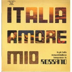 Rossano Lp Vinile Italia Amore Mio / Variety FST-ST 19504 Nuovo