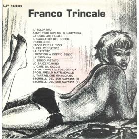 Franco Trincale Lp Vinile Omonimo Same / Lady Grace LP 1000 Nuovo