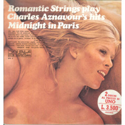 The Romantic Strings Lp Romantic Strings Play Charles Aznavour's Hits Nuovo