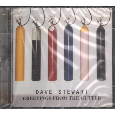 Dave Stewart CD Greetings From The Gutter Nuovo Sigillato 0745099754624