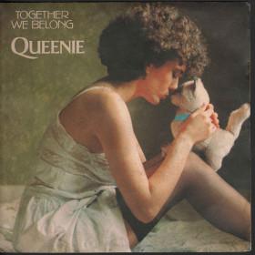 "Queenie Vinile 7"" 45 giri Together We Belong Nuovo 8038010009203"