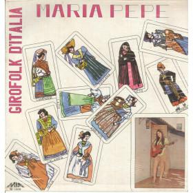 Maria Pepe Lp Vinile Girofolk D'Italia / MIA Records M-1400 Sigillato