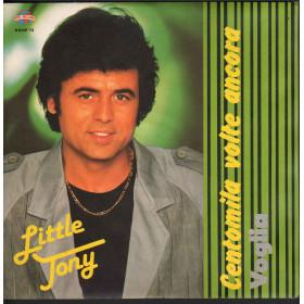 """Little Tony Vinile 45 giri 7"""" Centomila Volte Ancora Voglia / ROS RRNP 72 Nuovo"""