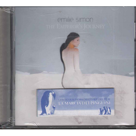 Emilie Simon CD The Emperor's Journey La Marcia dei Pinguini Sig 0602498274019