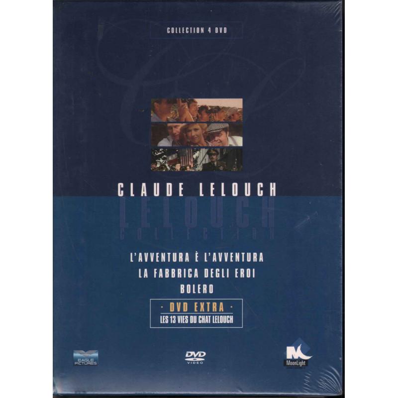 L'Avventura E' L'Avventura / La Fabbruica Degli Eroi / Bolero DVD Claude Lelouch