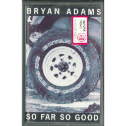 Bryan Adams MC MC7 So Far So Good / A&M ‎– 540 157-4 Sigillata 0731454015745