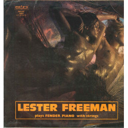 Lester Freeman Lp Vinile Plays Fender Piano with Strings Rifi RFS-ST 14521 Nuovo