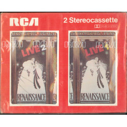 Renaissance 2x ‎MC7‎ Live At Carnegie Hall / BTM Records ‎– BTMK 2001 Sigillata