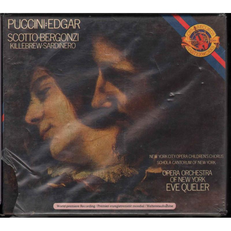 Puccini / Scotto / Bergonzi CD Edgar / CBS – M2K 79213 M2K 34584 Sigillato