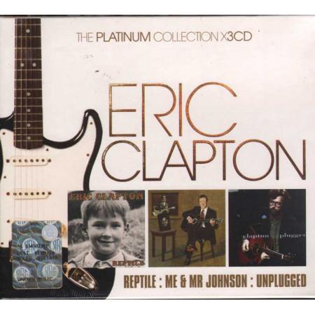 Eric Clapton Box 3 CD The Platunum Collection / Reprise Sigillato 0093624961666