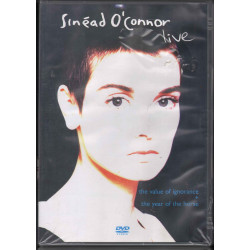 Sinead O'Connor DVD The Value Of Ignorance + The Year Of The Horse EMI Sigillato
