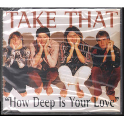 Take That ‎‎Cd'S Singolo How Deep Is Your Love / RCA ‎74321356312 Sigillato