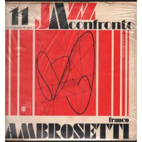 Franco Ambrosetti Lp Vinile Jazz A Confronto 11 / Horo Records Nuovo