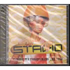 Stadio 2 CD Canzoni Per Parrucchiere Live Tour / EMI Sigillato 0094636643625