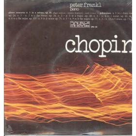 Peter Frankl Chopin Lp Piano Concerto 1 In E Minor Op 11 / Polonaises Sigillato