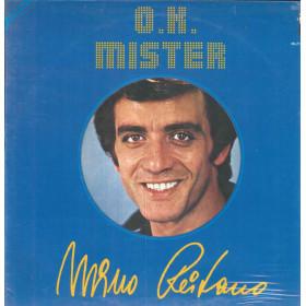 Mino Reitano Lp Vinile O.K. Mister Gatefold / Mister MPL 01/701 Sigillato