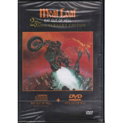 Meat Loaf ‎DVD Bat Out Of Hell + Hits Out Of Hell Sony Legacy 201689.7 Sigillato