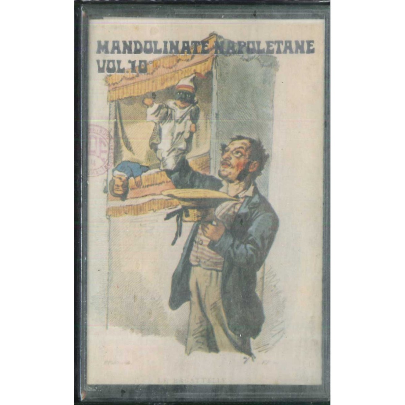 AA.VV MC7 Mandolinate Napoletane Vol 10 / Leon Disco - ABCD 325 Sigillata